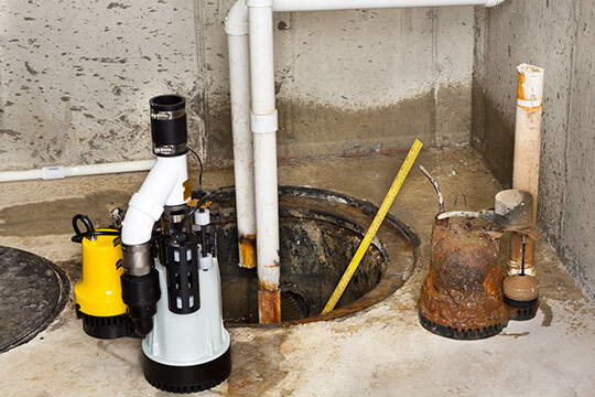 Sump Pumps Repair Services